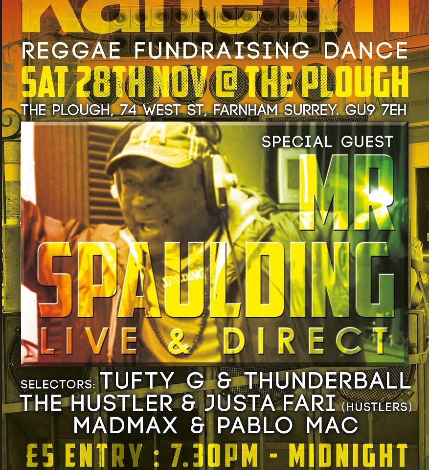 KaneFM Reggae Fundraiser Poster v1