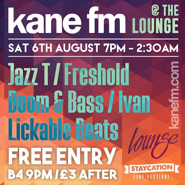 Kane at Lounge Staycation Live SQ v2